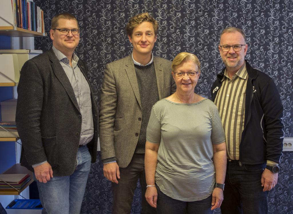 Magnus Hellmark, Centerpartiet, Riksdagskandidat Uppsala län. Emil Källström, Centerpartiet, Riksdagsledamot, Ekonomiskpolitisk talesperson